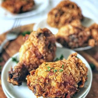 Buttermilk-Brined Southern Fried Chicken.