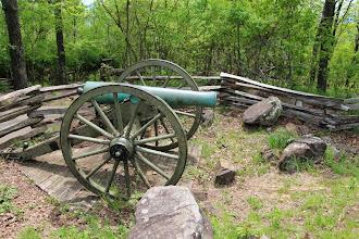 Photo: Cannon on summit