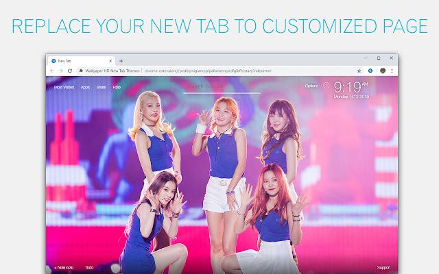 Kpop Red Velvet Backgrounds HD Custom New Tab