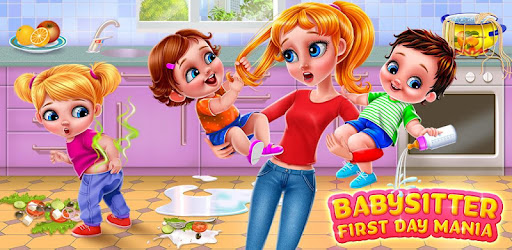 Babysitter First Day Mania - Baby Care Crazy Time for PC