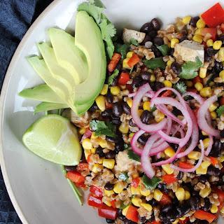 Southwest Chicken Farro Salad.