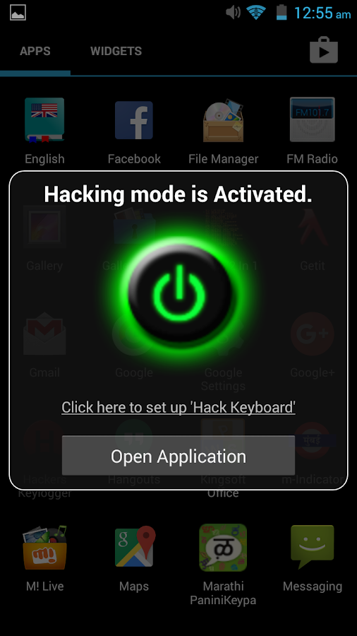 Hackers Keylogger - Android Apps on Google Play