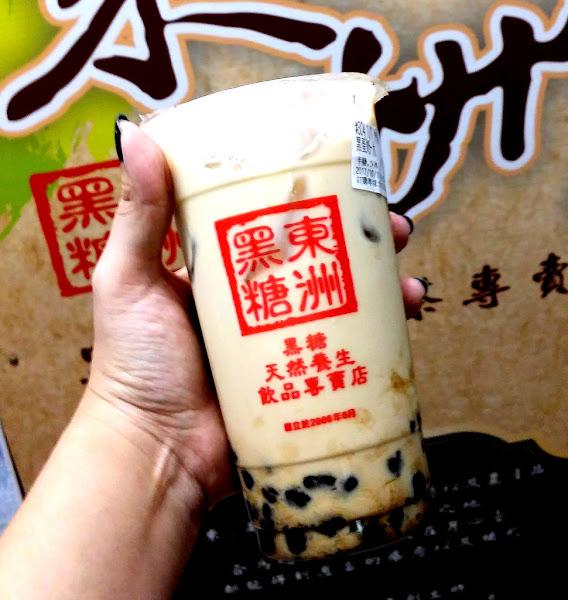 台南超人氣排隊美食黑蛋奶~東洲黑糖奶舖