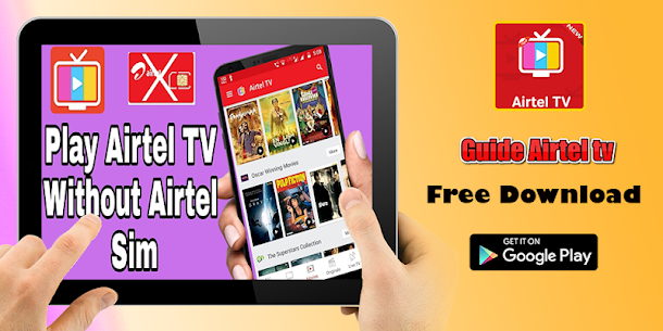 Guide Airtel Tv: xstream TV live channels & movies App Latest Version  Download For Android 2