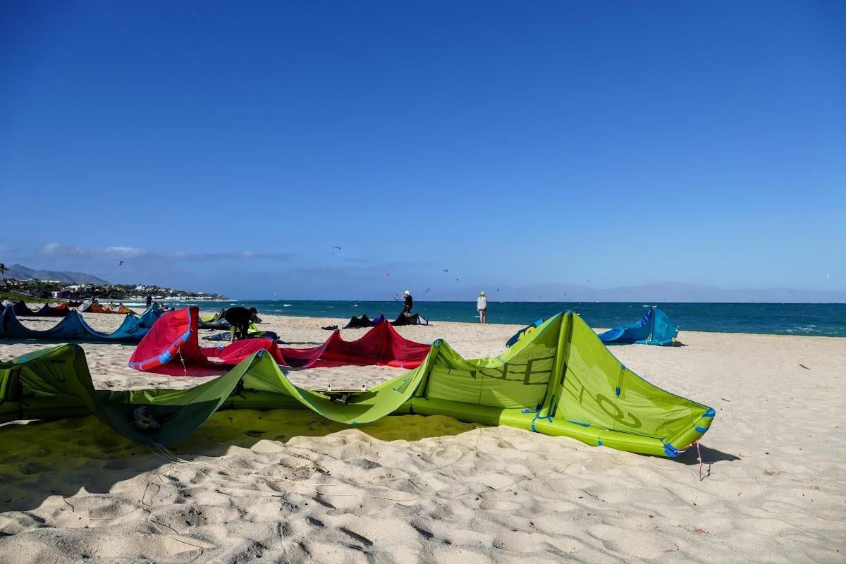 Kites on La Ventana beach