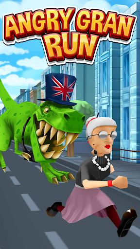 Angry Gran Run - Running Game APK MOD screenshots hack proof 1
