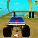 Monster Truck Racing Hero 3D icon
