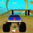 怪物卡车赛车英雄3D icon