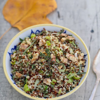 Quinoa with Leeks and Herbs.