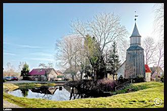 Photo: Die Dorfkirche in Lebbin wurde im 19. Jhdt. errichtet