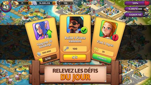 Télécharger Fantasy Forge : Monde des Anciens Empires APK MOD (Astuce) screenshots 3