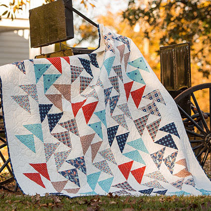 Commotion Free Quilt Pattern
