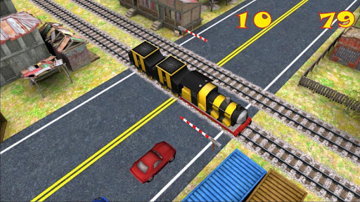 Train Road Crossing