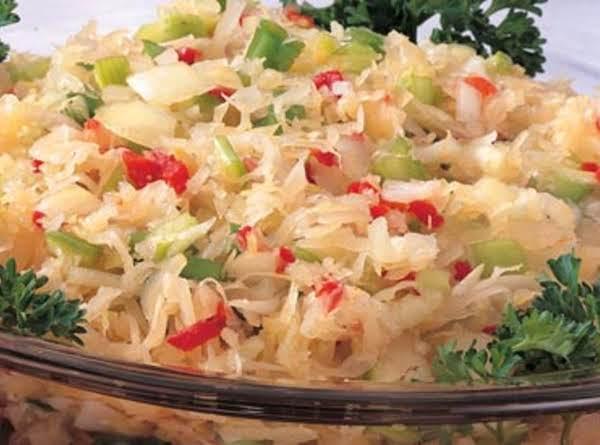 Amazing Sauerkraut Salad Recipe