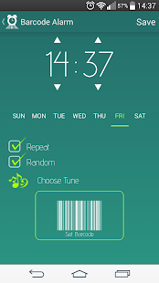 Barcode Alarm- screenshot thumbnail