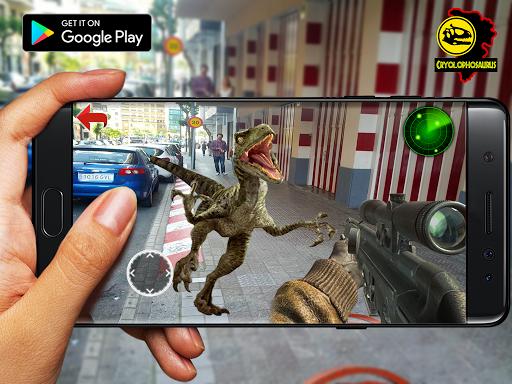 Jurassic Raptor Blue Hunter ARCamera : Real raptor  captures d'écran 1