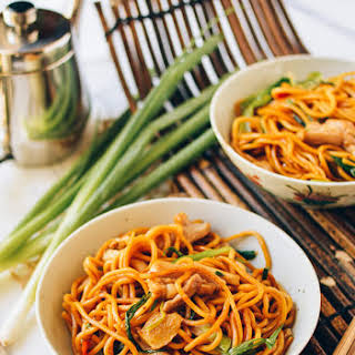 Ginger Scallion Hokkien Noodles.