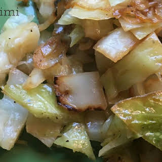 Southern Fried Cabbage.