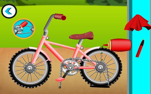 cycle repair mechanic shop screenshot 3