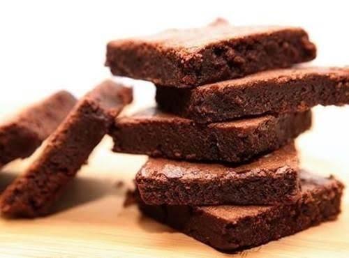 Fudgy Brownie Thins With Sea Salt Recipe