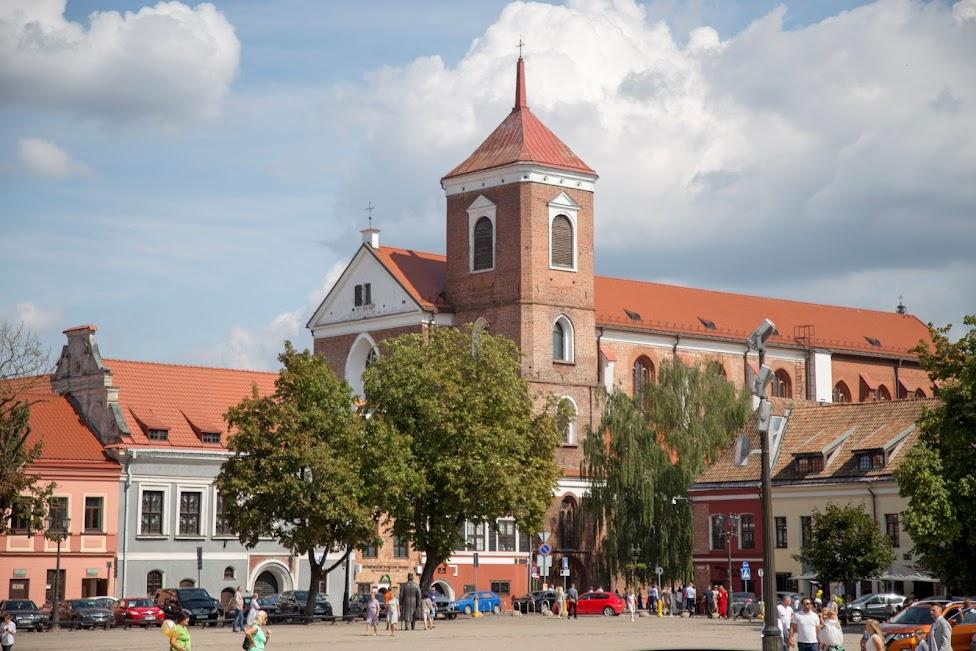 Kowno, Bazylika archikatedralna Świętych Apostołów Piotra i Pawła, Stare Miasto
