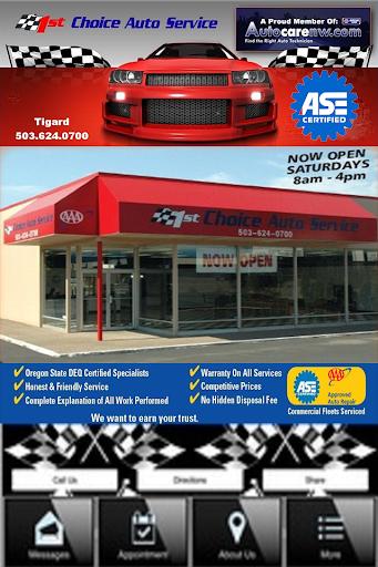 1st Choice Auto Service Tigard