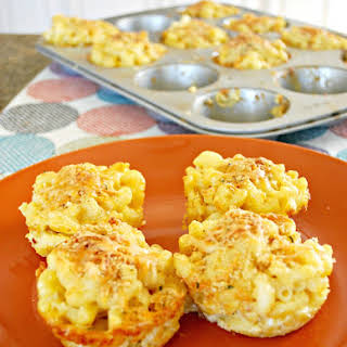 Mac and Cheese Muffins.