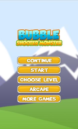 Bubble Shooter Monster