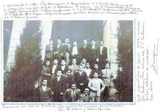 Photo: Fr. Francisco Ipaarraguirre corrige la fecha: es año 1964