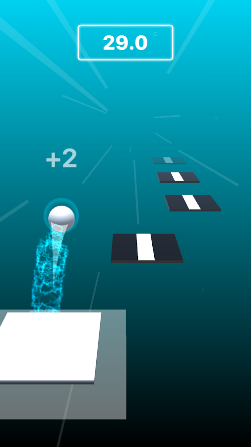 Dancing Ball 2 music game- screenshot