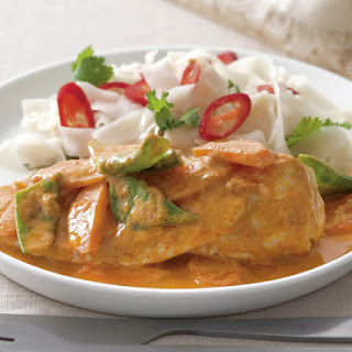 Chicken Curry Parcels