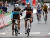 Oliver Naesen na val in eerste rit toch weer van start gegaan in BinckBank Tour