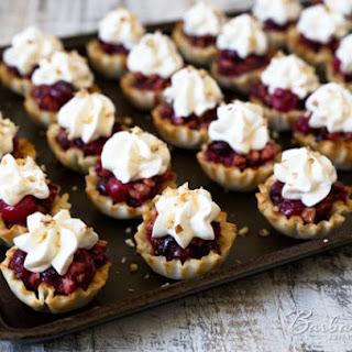 Cranberry Pecan Pie Bites
