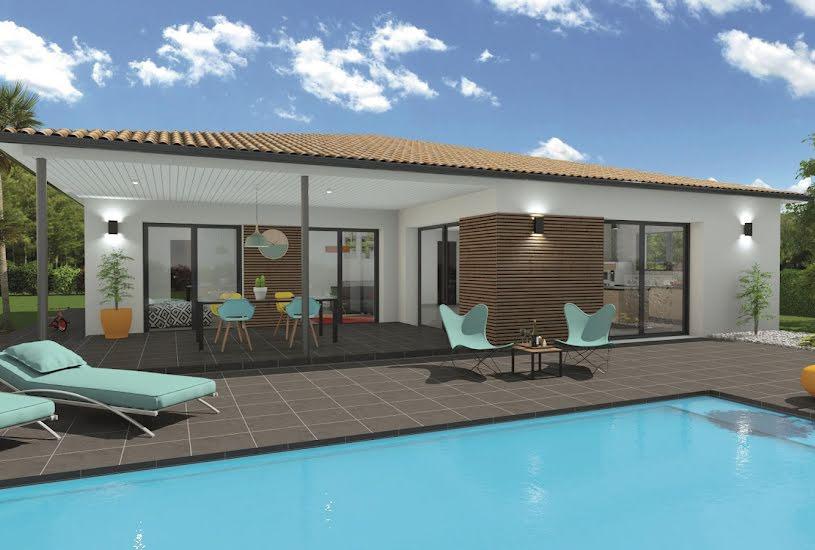 Vente Terrain + Maison - Terrain : 760m² - Maison : 117m² à La Brède (33650)