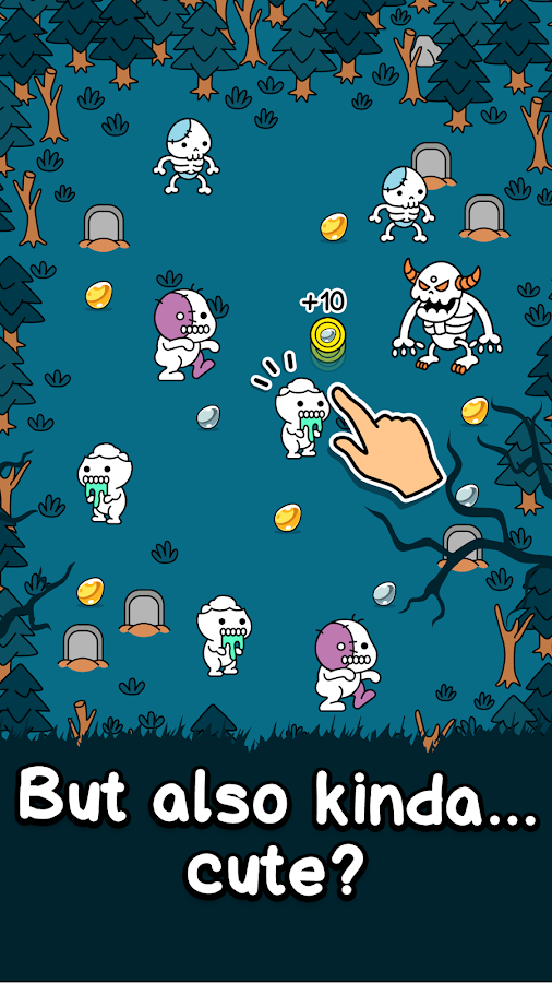 Zombie Evolution - Halloween Zombie Making Game- screenshot