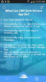 CMV Safe Drivers - náhled