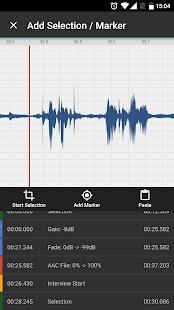 Auphonic Edit Screenshot