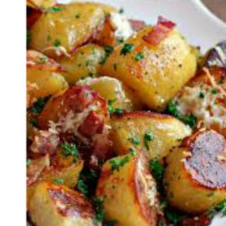 Potatoes Roasted in the Oven