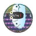 Fluffy Toy GO Keyboard icon