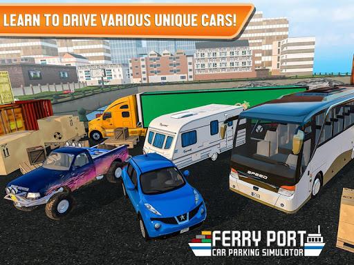Ferry Port Trucker Parking Simulator apktram screenshots 10