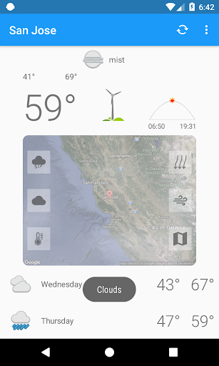 San Jose,CA - weather and more 1.0 screenshots 6