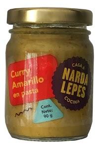 Cebolla, aceite de girasol, vinagre de alcohol, fécula de maíz, mostaza, sal, coriandro, jengibre, hinojo, canela, clavo de olor, comino, cayena, cardamomo.