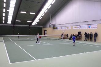 Photo: tossen jongste-jeugd zondag 19-2-2018
