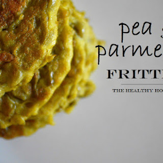 Pea & Parmesan Fritters