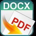 Convert docx to pdf icon