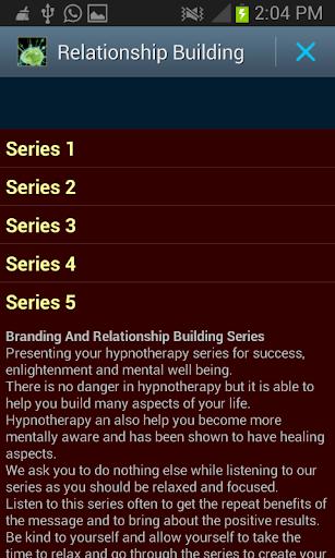 Relationship Building Hypno