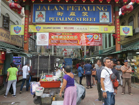 Bài số 28. Ngày đầu tiên tại khu Chinatown - Kuala Lumpur