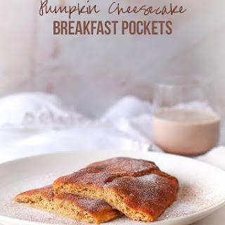 Keto Pumpkin Cheesecake Breakfast Pockets.
