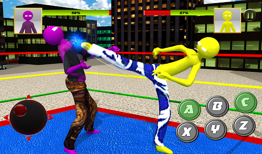 Stickman Wrestling 2.1 screenshots 12