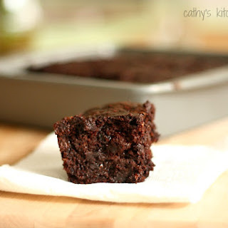 Whole Wheat Zucchini Brownies